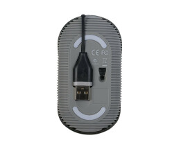 Targus Cord Storing Wired Mouse AMU76EU - Mouse - 1,000 dpi