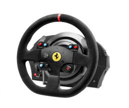 ThrustMaster T300 Ferrari Integral Racing Wheel Alcantara Edition - Steering wheel + Pedals - PC,PlayStation 4,Playstation 3 - Analogue / Digital - D-pad - Black - Alcantara