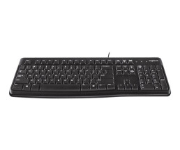 Logitech Desktop MK120 - UK - Wired - USB - QWERTY -...