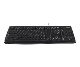 Logitech K120 - Wired - USB - QWERTZ - Black