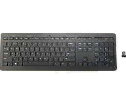 HP Collaboration - Tastatur - kabellos - 2.4 GHz -...