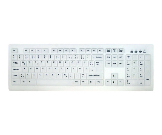 Active Key AK-C8100F - Standard - Wired - USB - White