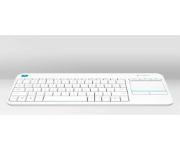 Logitech K400 Plus - Mini - Wireless - RF Wireless -...