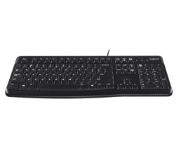 Logitech Keyboard K120 for Business - Standard - Wired -...