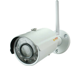 Lupus Electronics LupusnetHD - LE201 wireless CCTV security camera Indoor & outdoor Bullet White 1280 x 960 pixels