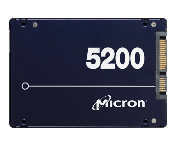 Micron SSD Pro 5200 3.84TB 2.5 5DWPD - Solid State Disk - Serial ATA