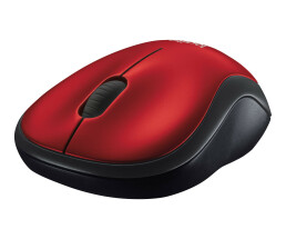 Logitech M185 - Ambidextrous - Optical - RF Wireless -...