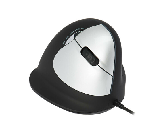 R-Go Premium Combo - QWERTZ (DE) - Mini - USB - Black - Mouse included