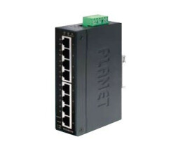 Planet IGS-801M network switch Managed L2 Gigabit Ethernet (10/100/1000) Black 1U