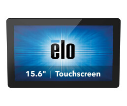 "Elo Touch Solutions Elo Touch Solutions 1593L touch screen monitor 39.6 cm (15.6 "") 1366 x 768 pixels Black Multi-touch"