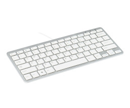 R-Go Compact Keyboard - QWERTY (UK) - white - wired -...