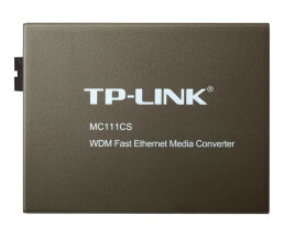 TP-LINK 10/100Mbps WDM Media Converter - UTP 3 - 4 - 5e - 5 - Wired - 20000 m - IEEE 802.3 - IEEE 802.3u - IEEE 802.3x - FCC - CE - 0 - 40 °C