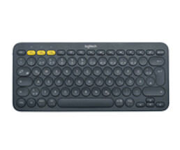Logitech K380 - Mini - Wireless - Bluetooth - QWERTZ - Grey