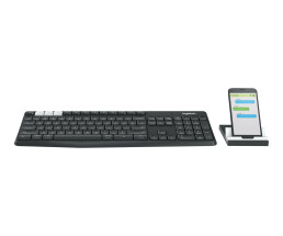 Logitech K375s Multi-Device - Tastatur - Bluetooth, 2.4...
