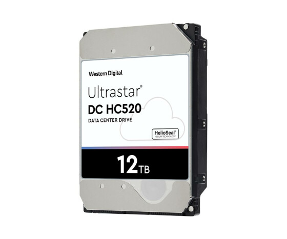 "WD Ultrastar He12 - 3.5"" - 12000 GB - 7200 RPM"