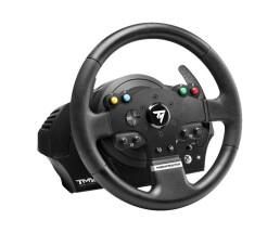 ThrustMaster TMX Force Feedback - Steering wheel - PC,Xbox One - Menu - Wired - Black - Windows 10 Education,Windows 10 Education x64,Windows 10 Enterprise,Windows 10 Enterprise...