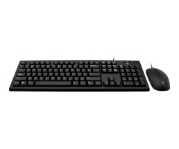 V7 Wired Keyboard and Mouse Combo - US