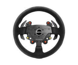 ThrustMaster Rally Wheel Add-On Sparco® R383 Mod - Steering wheel - PC,PlayStation 4,Xbox One - Analogue - 360° - Wired - Carbon