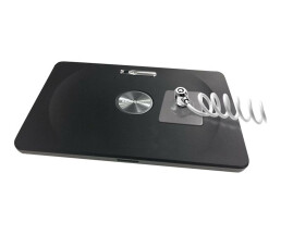Compulocks Universal Tablet Secured With COLIED CABLE LOCK