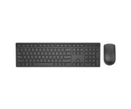 Dell M636 - Keyboard - 1,000 dpi Optical - 3 keys QWERTZ - Black