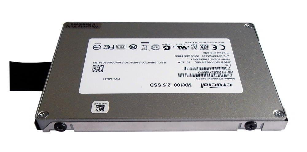 SSD mit Einbaurahmen